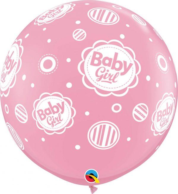 """40"""" μπαλόνι τυπωμένο Baby Girl"""