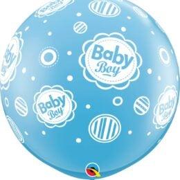 """36"""" μπαλόνι τυπωμένο Baby Boy"""