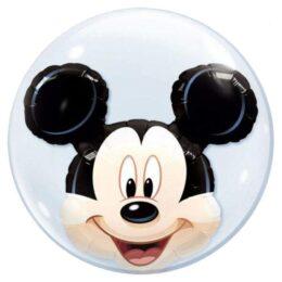 Μπαλόνι Mickie Mouse διπλό bubble61 εκ