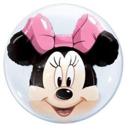 Μπαλόνι Minnie Mouse διπλό bubble61 εκ