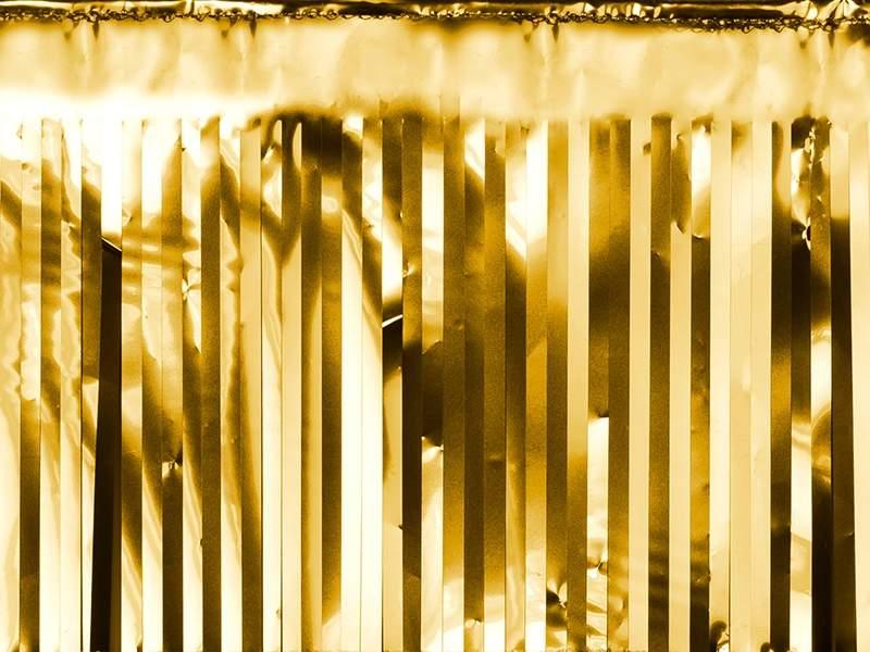 Χρυσή διακοσμητική γιρλάντα 4μ