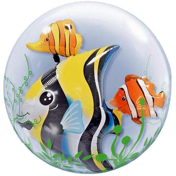 Μπαλόνι Ψάρια bubble