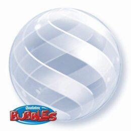 Μπαλόνι με σχέδια Swirls Deco bubble 51 εκ