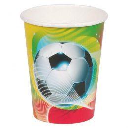 Ποτήρια πάρτυ Ποδόσφαιρο (8 τεμ)