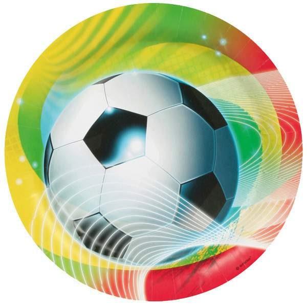 Πιάτα πάρτυ Ποδόσφαιρο (8 τεμ)