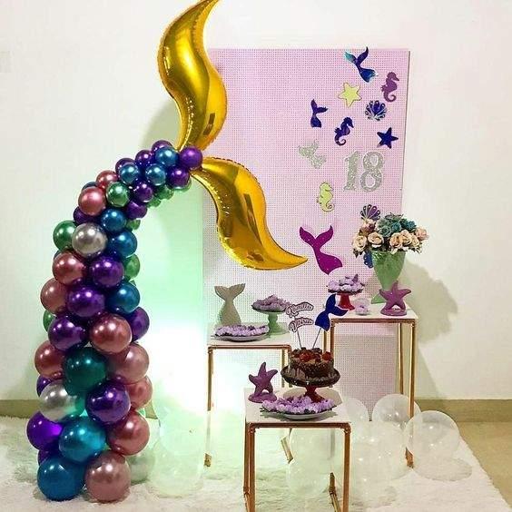 Μπαλόνι Φούξια Swirling S