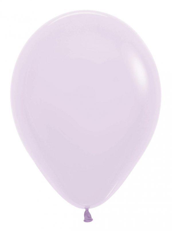 """12"""" Παστέλ ματ Λιλά λάτεξ μπαλόνι"""