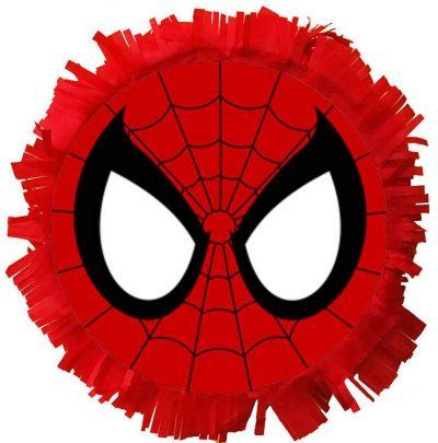 Χειροποίητη μεγάλη Πινιάτα πάρτυ κεφάλι Spiderman