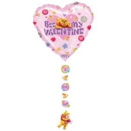 Μπαλόνι Winnie Καρδιά Valentine