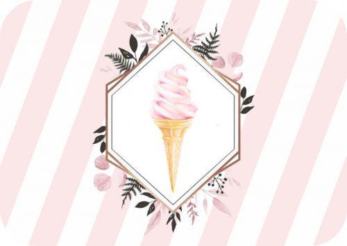 Σουπλά τραπεζιού Παγωτό