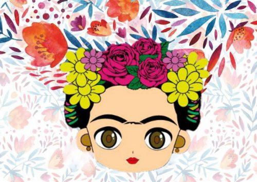 Σουπλά τραπεζιού Frida Kahlo