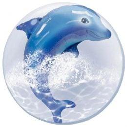 Μπαλόνι Δελφίνι bubble 61 εκ