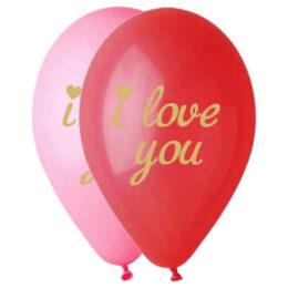 12″ Μπαλόνι τυπωμένο χρυσό I Love You