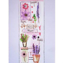Ευχετήρια Κάρτα Λουλούδια & Φυτά