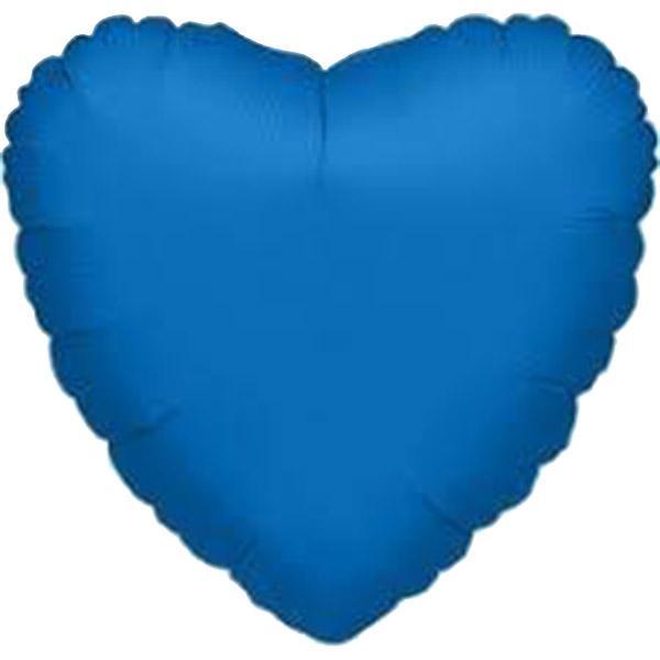 """Μπαλόνι μπλε καρδιά 31"""""""