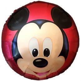 Μπαλόνι Mickey Mouse φάτσα κόκκινο 45 εκ