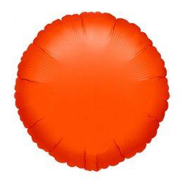 """Μπαλόνι neon πορτοκαλί στρογγυλό 18"""""""