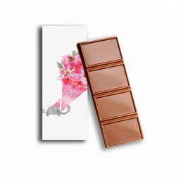Σοκολάτα Ελεφαντάκι & ανθοδέσμη
