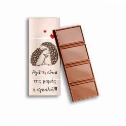 Σοκολάτα Μαμά & μωρό σκαντζόχοιρος