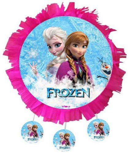 Χειροποίητη μεγάλη Πινιάτα πάρτυ Frozen