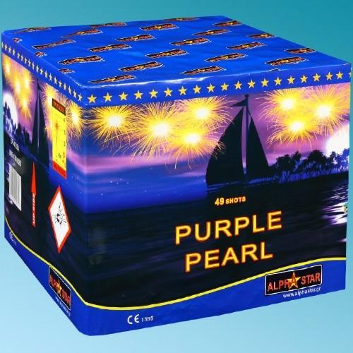 Πυροτεχνήματα 49 βολών Purple Pearl