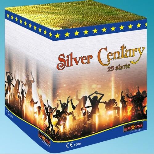 Πυροτεχνήματα 25 βολών Silver Century