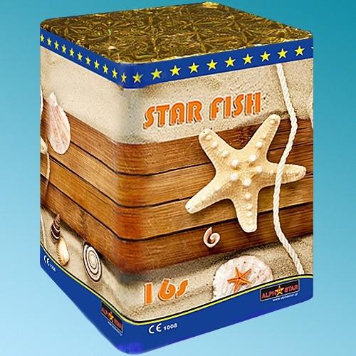 Πυροτεχνήματα 16 βολών StarFish βεγγαλικά