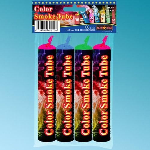 Καπνογόνο Color Smoke Tube (4 τεμ)