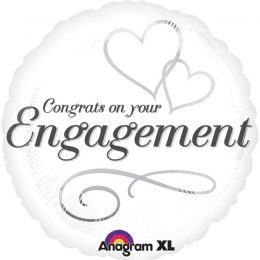Μπαλόνι Congrats on your Engagement 45 εκ