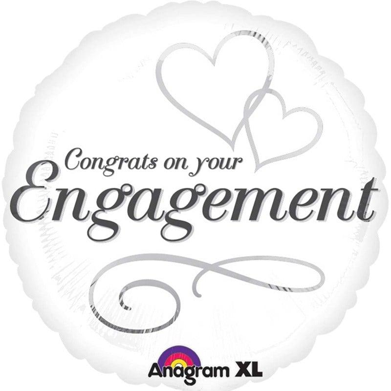 Μπαλόνι Congrats on your Engagement 45 εκ