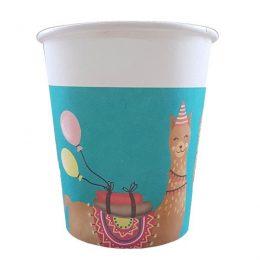 Ποτήρια πάρτυ χάρτινα Λάμα (8 τεμ)