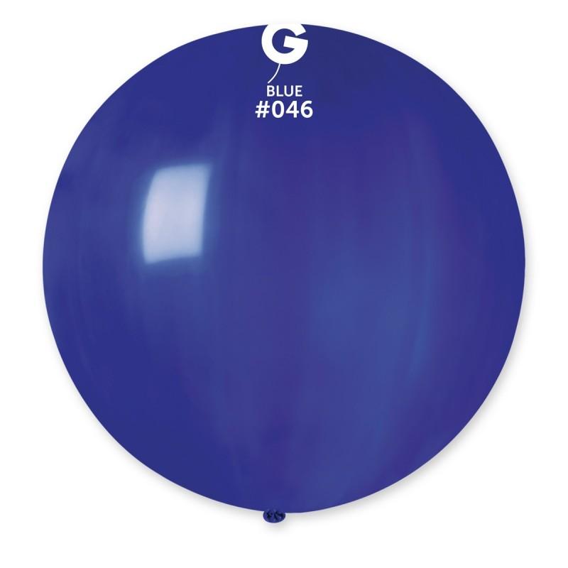 "80cm - 31"" Μπλε μεγάλο μπαλόνι"