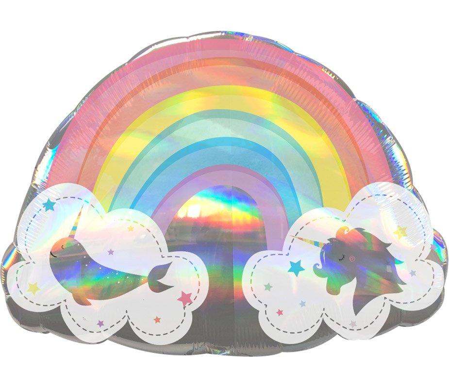 Μπαλόνι μαγικό Ουράνιο τόξο 71 εκ