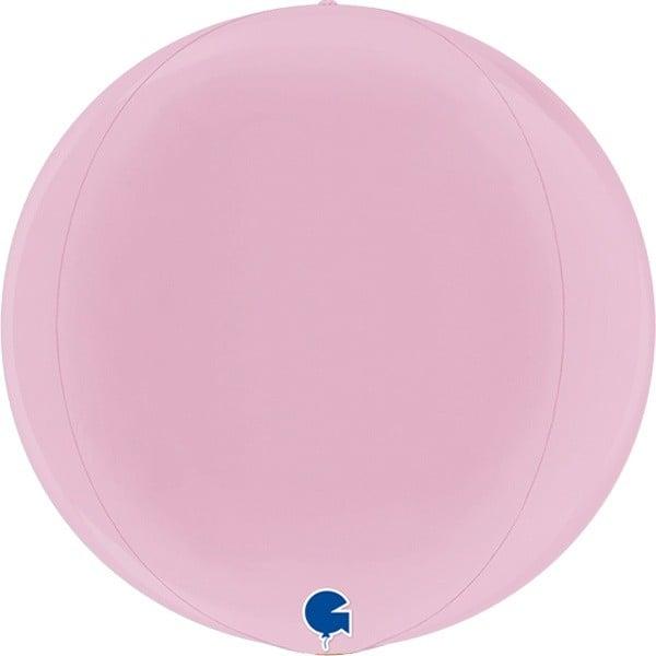 Μπαλόνι παστέλ ροζ τρισδιάστατο στρογγυλό ORBZ