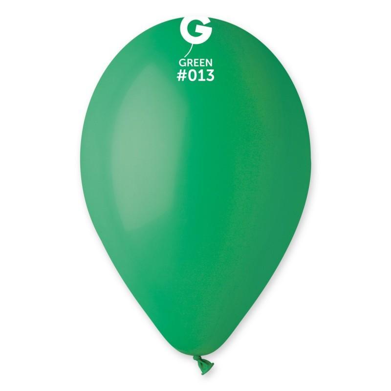 """9"""" Πράσινο λάτεξ μπαλόνι"""