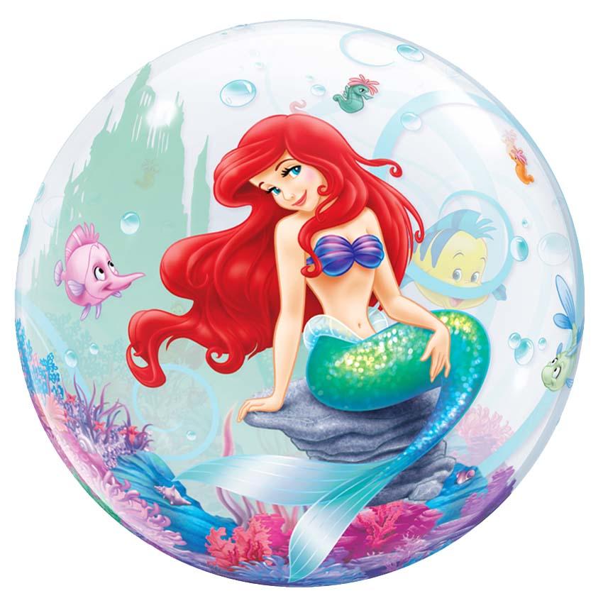 Μπαλόνι Άριελ η μικρή γοργόνα bubble 56 εκ