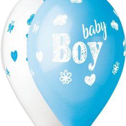 12″ Μπαλόνι Baby Boy σκίτσο