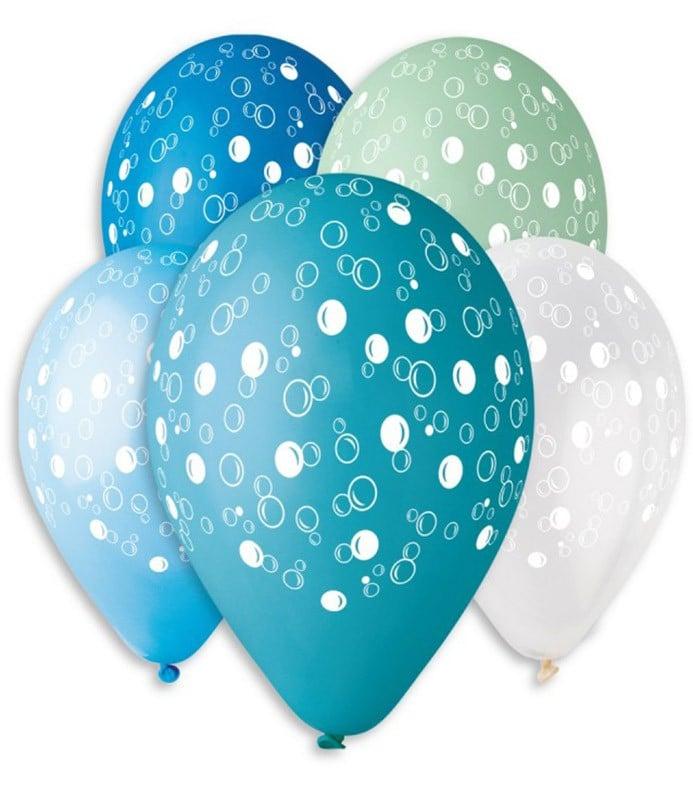 """12"""" Μπαλόνι τυπωμένο Σαπουνόφουσκες"""