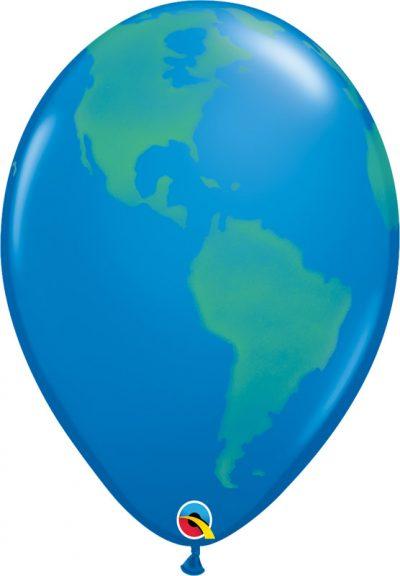 """16"""" Μπαλόνι τυπωμένο Υδρόγειος Σφαίρα"""