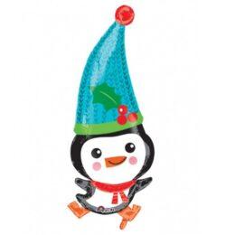 Μπαλόνι γλυκός πιγκουίνος 83 εκ