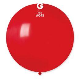 80cm – 31″ Κόκκινο μεγάλο μπαλόνι