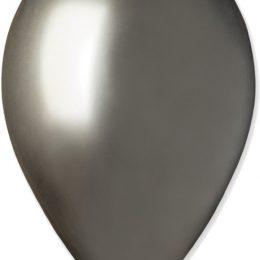 "12"" Shiny Space Grey λάτεξ μπαλόνι"