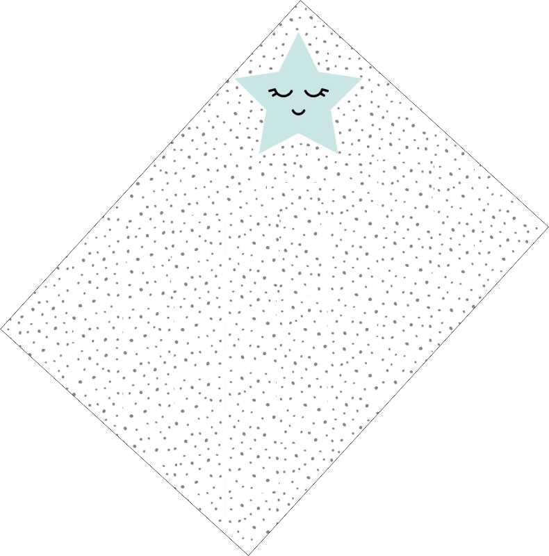 Χωνάκια ζαχαρωτών γαλάζιο Αστεράκι