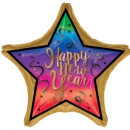 Μπαλόνι αστέρι Happy New Year 71 εκ