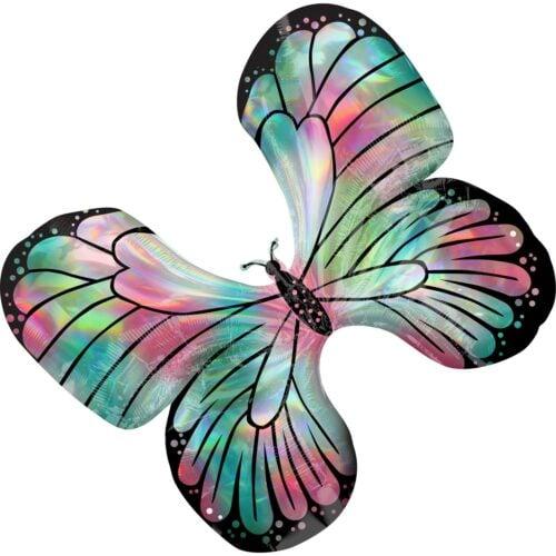 Μπαλόνι Πεταλούδα τυρκουάζ & ροζ