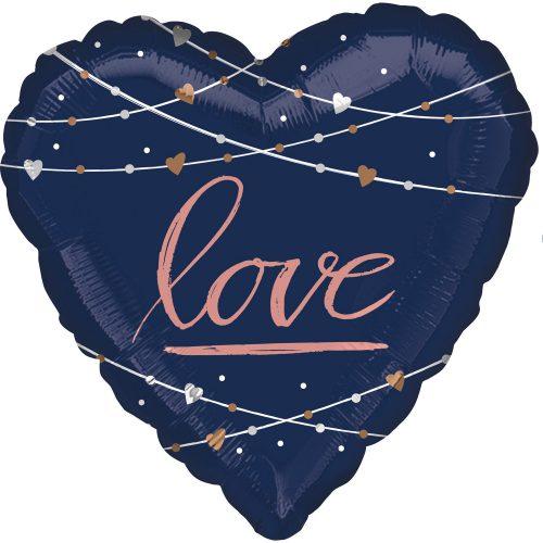 Μπαλόνι αγάπης Καρδιά Navy Love 71 εκ