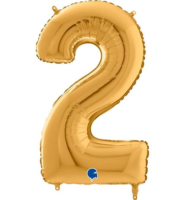 Μπαλόνι 66 εκ Χρυσό Αριθμός 2