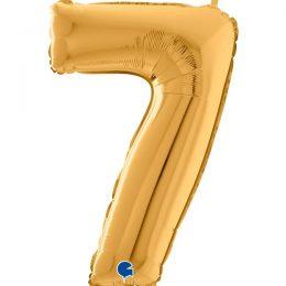 Μπαλόνι 66 εκ Χρυσό Αριθμός 7