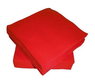 Χαρτοπετσέτες μικρές κόκκινες (50 τεμ)