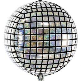 Μπαλόνι Disco Ball με γκλίτερ 40 εκ